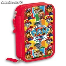 Plumier Doble Patrulla Canina Paw Patrol Kids 13392 PPT02-13392