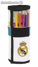 Plumier enrollable 27 pcs. Real madrid 1