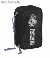 "Plumier triple 41 pcs real madrid ""black"