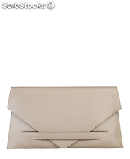 pochette donna made in italia marrone (32570)