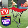 Pocket Chair Silla de Bolsillo Plegable, Anunciado en TV