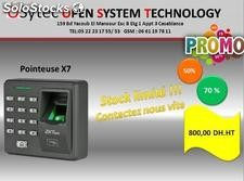 pointeuse x7 en promotion