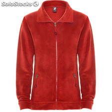 Polaire Femme rouge casual collection invierno