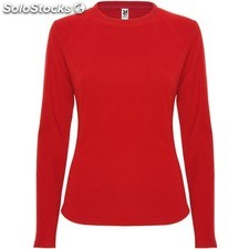 Polaire Femme rouge rubis casual collection invierno