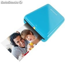 Polaroid Zip Mobile Printer azul, mini Impresora fotográfica Bluetooth
