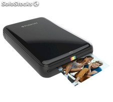 Polaroid Zip Mobile Printer negra, mini Impresora fotográfica Bluetooth