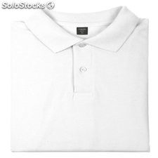 Polo Bartel Blanco White M