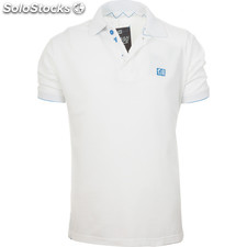 Polo basic junior TIF15 blanco - blanco - the indian face - 8433856043624 -
