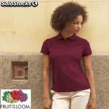 Polo chica 65/35 Fruit Of The Loom m/c