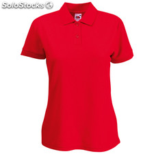 Polo Femme 65/ 35 Red L