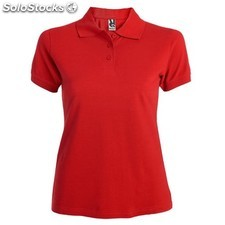 Polo Femme rouge casual collection verano