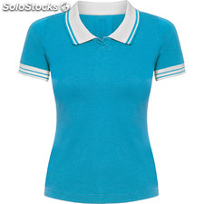Polo Femme turquoise casual collection verano