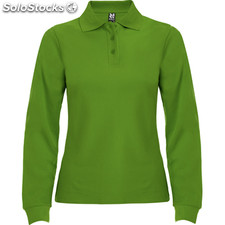 Polo Femme vert herbe casual collection invierno
