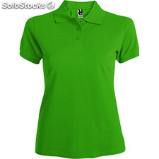Polo Femme vert herbe casual collection verano