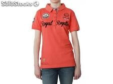 Polo geographical norway Frauen - kassis_lady_ss_assor_a_corail - Größe : xs