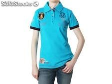 Polo geographical norway Frauen - katana_lady_ss_turquoise - Größe : xs