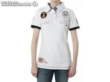 Polo geographical norway Frauen - katana_lady_ss_white - Größe : xs