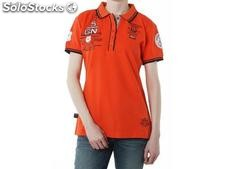 Polo geographical norway Frauen - kristy_lady_ss_assor_a_corail - Größe : m