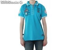 Polo geographical norway Frauen - kristy_lady_ss_assor_a_turquoise - Größe : xs