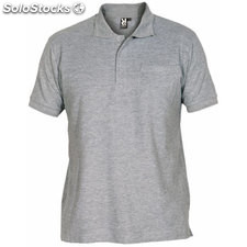 Polo Hombre xxl gris vigoré casual collection verano