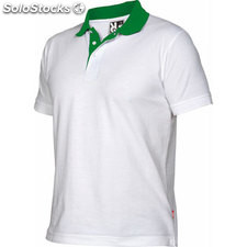 Polo Hombre xxxl blanco/verde grass casual collection verano