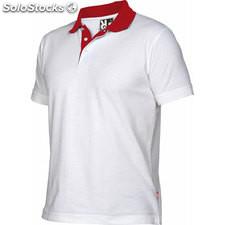 Polo Homme blanc/rouge casual collection verano