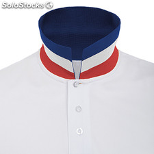 Polo Homme blanco/azul clásico casual collection verano