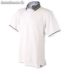 Polo homme col rectractile p.delone t-600-xl-bl