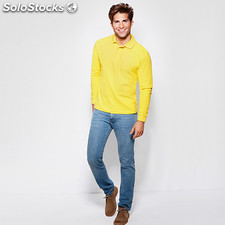 Polo Homme estrella manches longues vert herbe t: l. Casual collection invierno