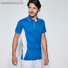 Polo Homme montmelo noir/lime t: xxl. Sport collection