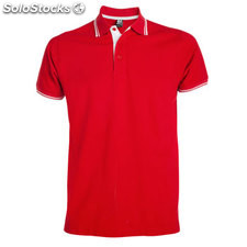 Polo Homme rouge/blanc casual collection verano