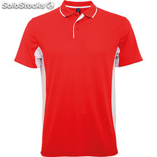 Polo Homme rouge/blanc sport collection