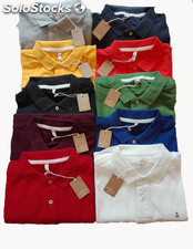 Polo homme stock
