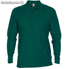 Polo Homme vert bouteille casual collection invierno