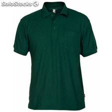 Polo Homme vert bouteille casual collection verano
