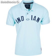 Polo indian rules - soft blue