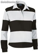 Polo rugby mujer bicolor
