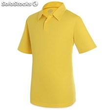 Polo street d&f moutarde t-1109-l-mo