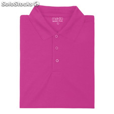 Polo tecnic plus color: fucsia