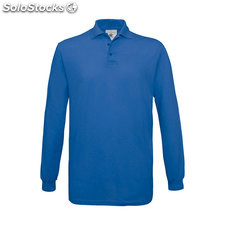 Polo Uomo 180 g/m2 BC0554-rb-s, Blu reale