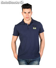 polo uomo just cavalli blu (34641)