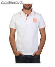 polo uomo norway geographical bianco (32009)