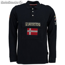 Polos manga larga Geographical Norway