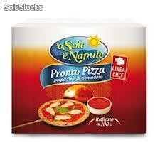 Polpa pronto Pizza bag in box o' sole 'e napule 2 x 2,5 Kg