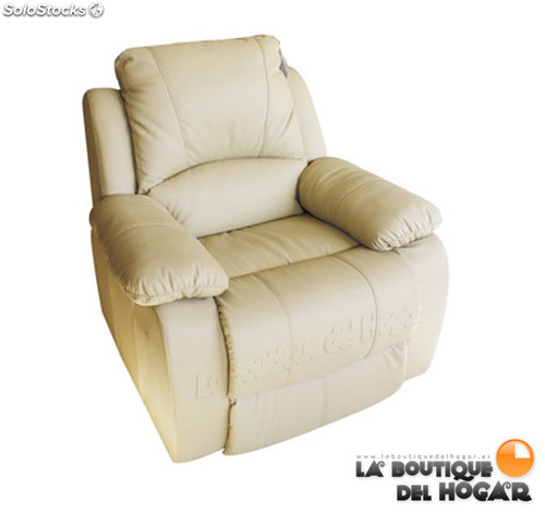 Poltrona de massagem Olimpia LVTP Eco-749up cor Beige-Recondicionado