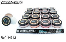 Polvo mineral facial 4 colores (0,85€ unidad) pack 16 leticia well