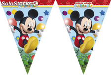 Polybag banderas triangulo mickey playful