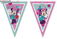 Polybag banderas triangulo minnie dots