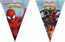 Polybag banderas triangulo ultimate spiderman