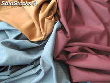 Polyester fabrics plain and stretch
